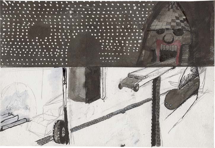 Ronald Cornelissen Blog Archive 8 Small Drawings For Shoot At